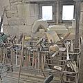 ATELIER taille de pierre,techniques de restauration,transmission Dynamique des Gestes Techniques