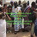 Maitre chacha un puissant marabout voyant médium africain