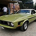 Ford mustang convertible, 1973