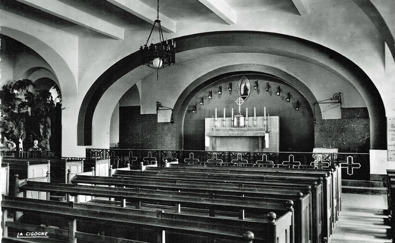 Meknes intérieur église copie