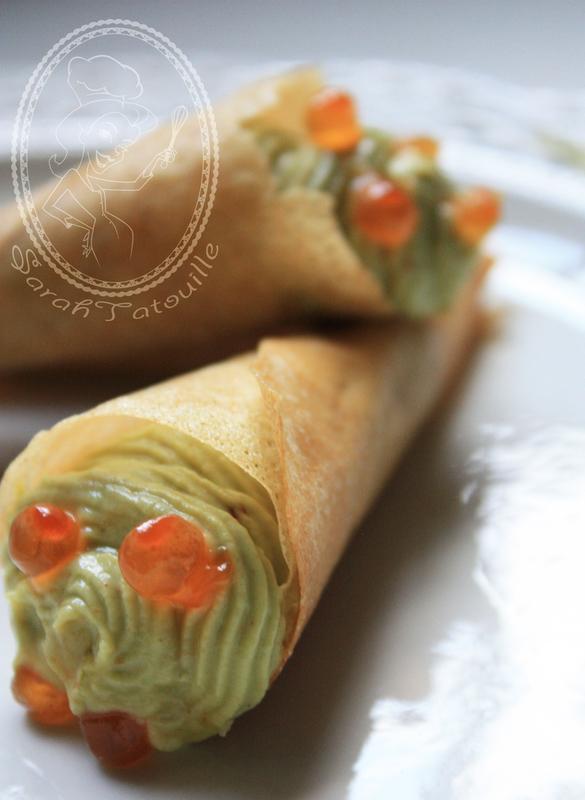 cornet guacamole