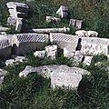 archéologie du bâti, St Ouen la Thène,art roman,tympan fenête, clocher