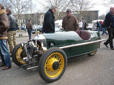 MORGAN Super Sport 3-Wheeler 1933 Strasbourg (1)