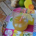 Jus vitaminé ananas gingembre