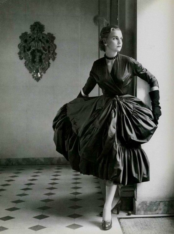 1951 dress by Balenciaga.