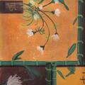 chinois jaune fleuri blanc 1