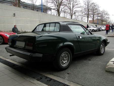 TRIUMPH TR7 Coupe 1975 1981 Salon Champenois du Vehicule de Collection de Reims 2010 2
