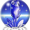 Signification de la rose bleu