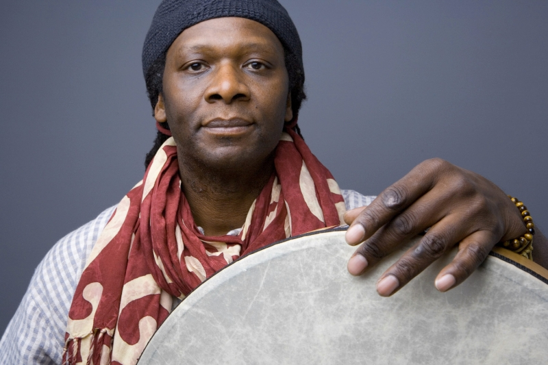 04 - Hamid Drake - by Jim Newberry