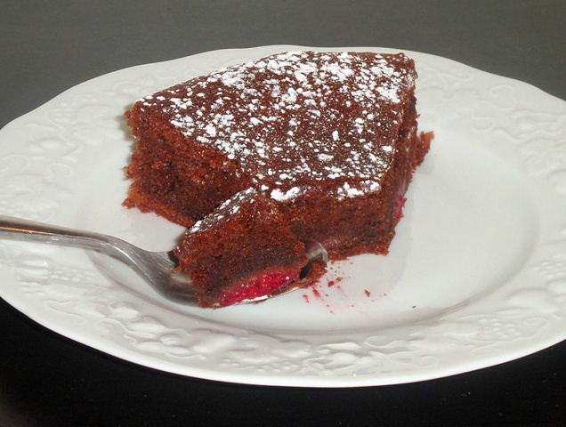 Part gâteau au chocolat