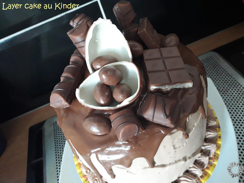 0323 Layer cake aux Kinder 4
