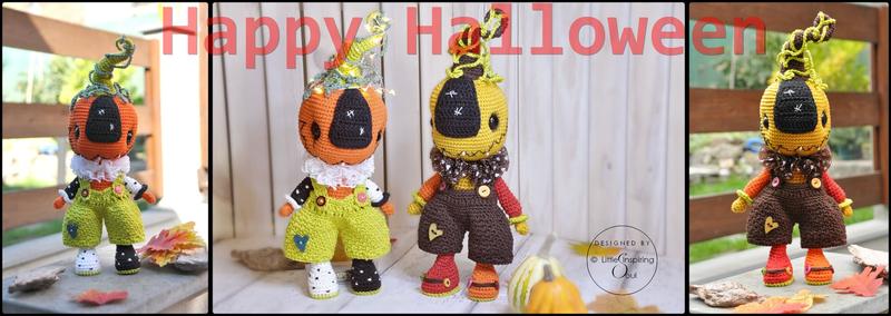 amigurumi pattern pumpkin doll