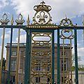 Les grilles du Petit Trianon