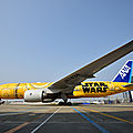 C-3 po, le nouvel avion #starwars d'#ana