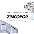 Des pièces allégées en alliage de zinc par le procédé zincopor