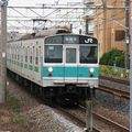 JR 203-1000 at Shim-Matsudo