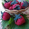 des fraises...