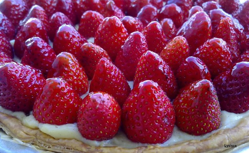 Tarte aux fraises 2