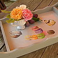 Plateau desserte / Serving tray