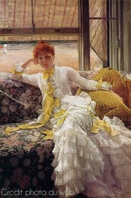 James-Tissot-Seaside