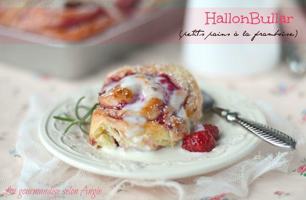 hallonbullar petits pains framboise 1