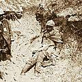 1917-01-08 poilu boue pieds de tranchées