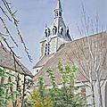 Château-renard, l'église #2