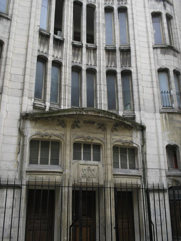 Une des synagogues du Marais...