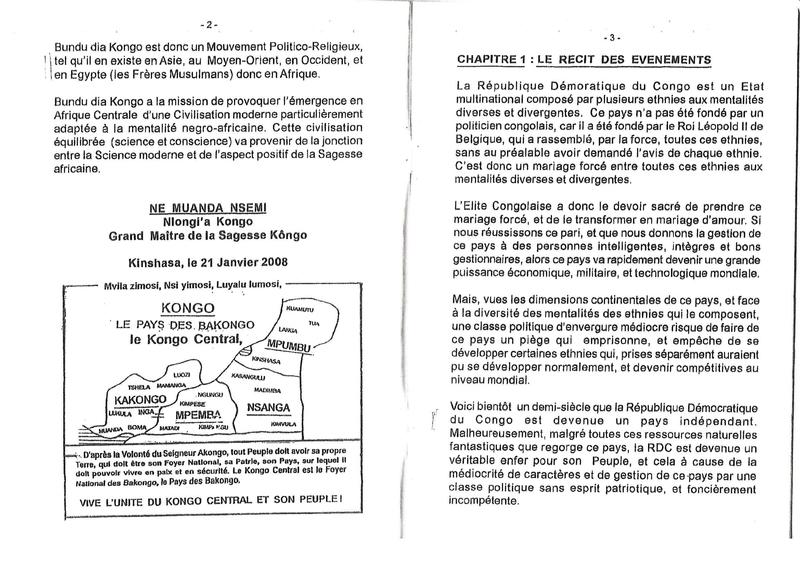 LE LITIGE DE L'ETAT CONGOLAIS AVEC BDK 5