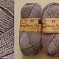 Baby Alpaca Silk (gris mauve)