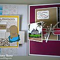 Mini album - Equipe créative Nesiris - Stampin'up7