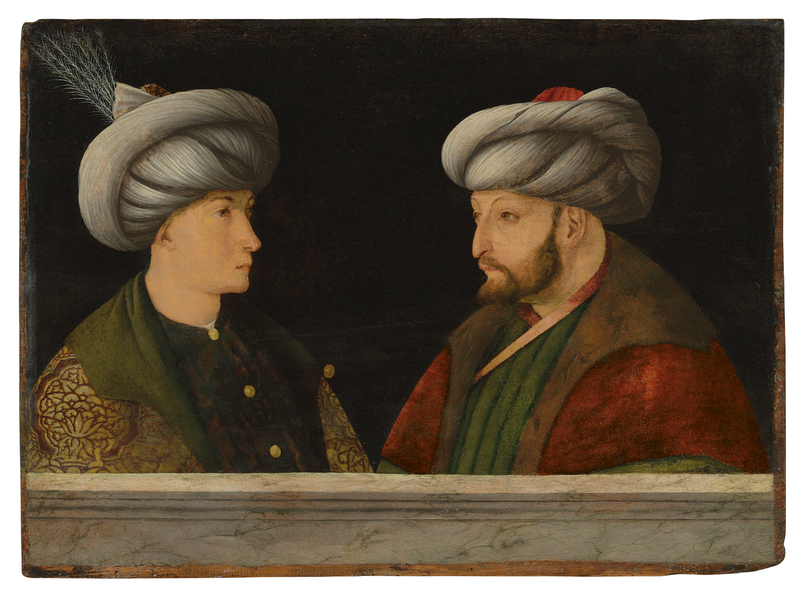 2020_CKS_18371_0118_000(portrait_of_sultan_mehmed_ii_with_a_young_dignitary_workshop_of_gentil)