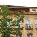 0547 - Belle façade Cours Mirabeau Aix 16 juin