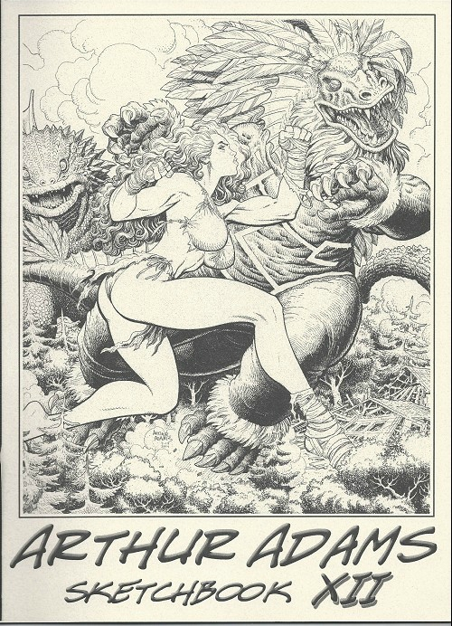 arthur adams sketchbook XII