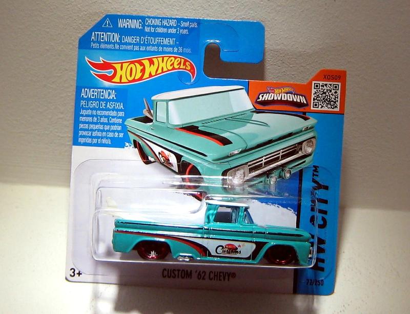 Chevrolet chevy custom de 1962 (Hotwheels 2015)
