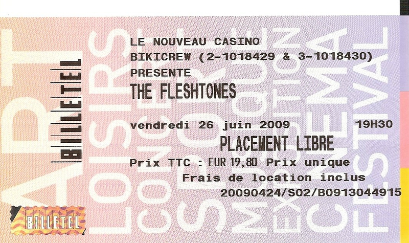 2009 06 The Fleshtones Billet