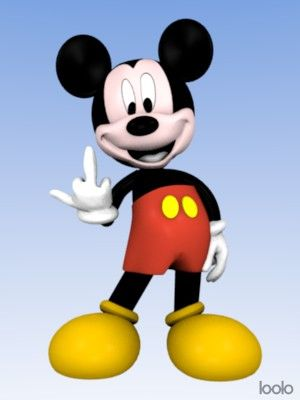 mickey_doigt