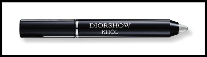 dior diorshow khol pearly silver