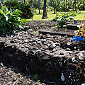 Tombe traditionnelle en basalte, Maui