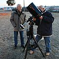 Evenements : Eclipse du soleil 4 janvier 2011