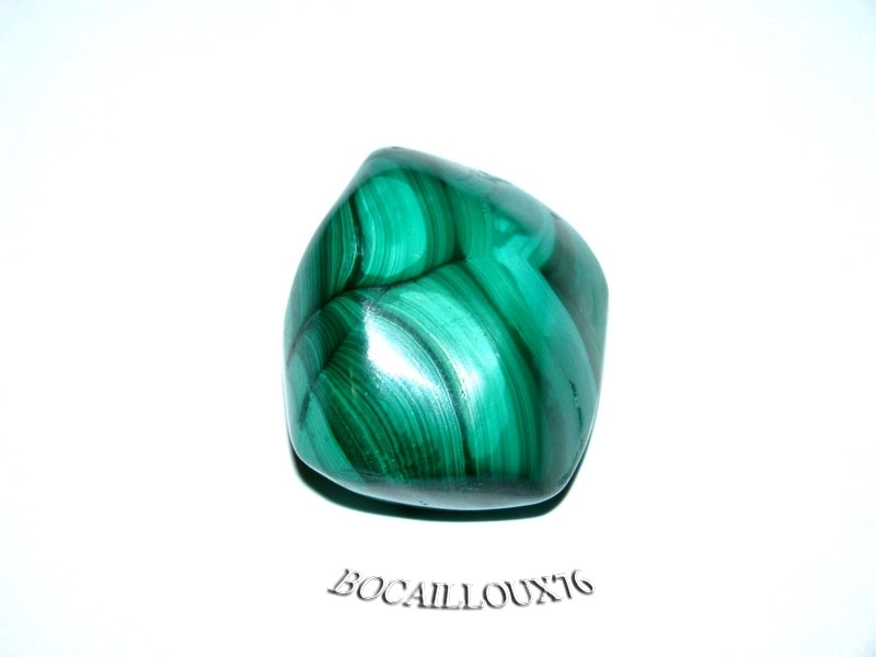 MALACHITE 7 Roulée - Pour CREATION - LITHOTHERAPIE
