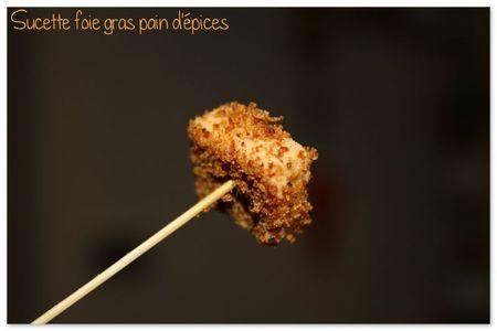 Sucette foie gras