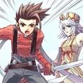 Lloyd et Raine