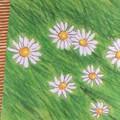 Fleurs vertes 16*16