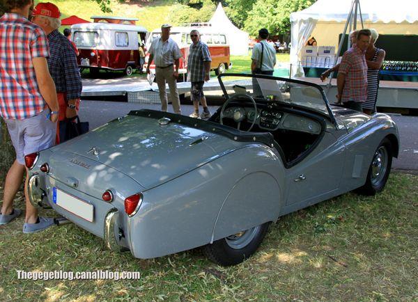 Triumph TR3 roadster avec kit carrosserie (1955-1957)(37ème Internationales Oldtimer Meeting de Baden-Baden) 02