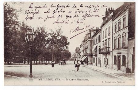 24 - PERIGUEUX - Cour Montaigne