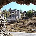 turquie : kayakoy village fantome