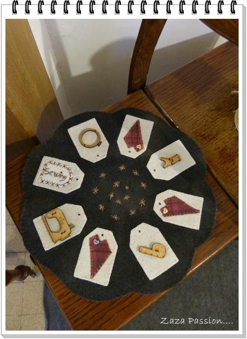 Candle mat 3
