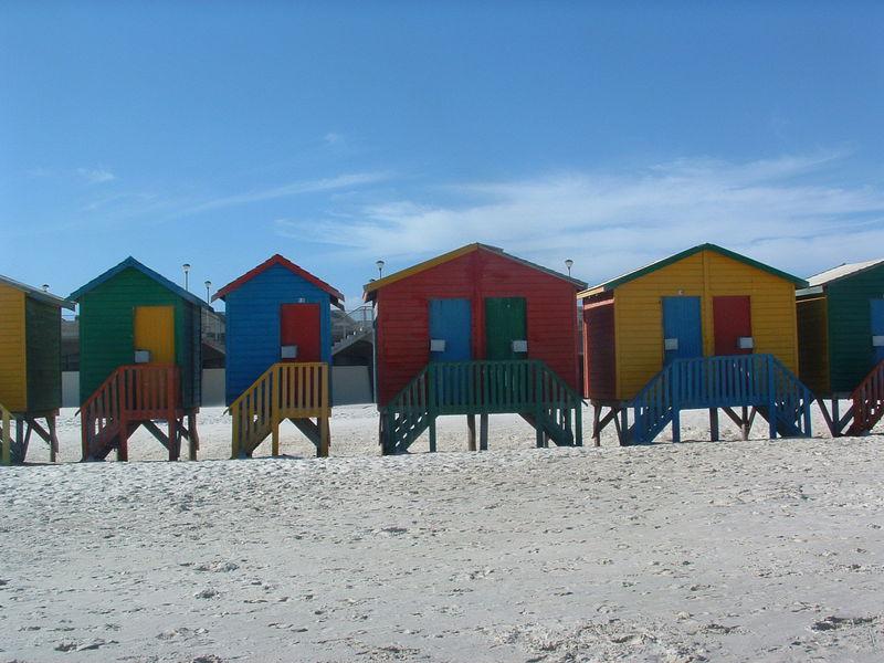 Muizenberg's beach