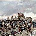 De Neuville, bivouac après la bataille du Bourget (1872)